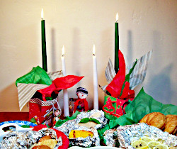 Cook and Serve in Aluminum Foil for an Easy Holiday Buffet
