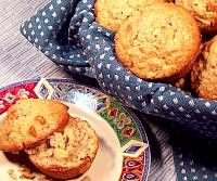 Apple Oatmeal Nut Muffins