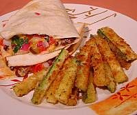 Baked Quesadillas with Zucchini Fingers