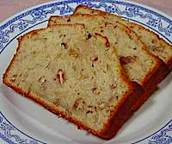 Banana Applesauce Pecan Bread