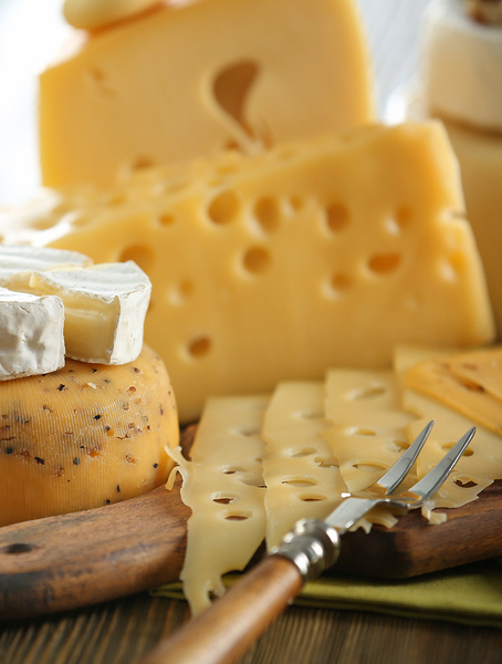 Cholesterol Amounts of Different Cheeses
