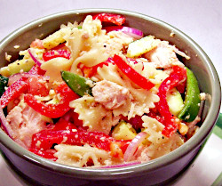 Bow Tie Chicken Salad