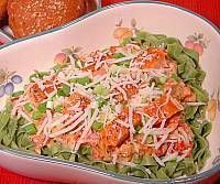 Caesar Salmon Pasta