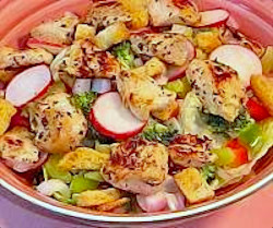 Chicken Popper Salad