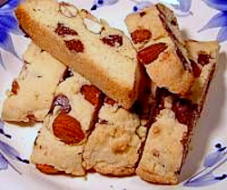 Chocolate Chip and Almond Biscotti