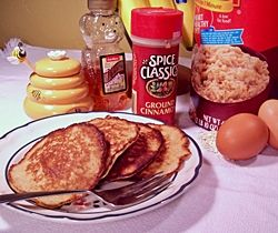 Image of Cinnamon Banana Oat Cakes