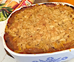 Crackly Potato and Hamburger Casserole