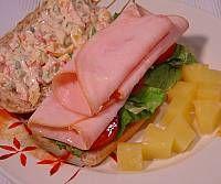 Picture of Cream Cheese Sourdough Turkey Sandwich