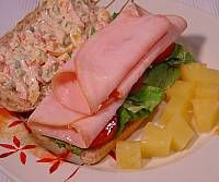 Cream Cheese Sourdough Turkey Sandwich