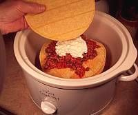 Crockpot Tortilla Stack