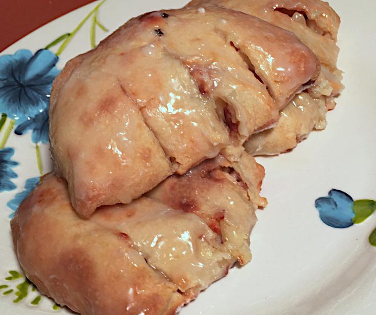 Apple Almond Bear Claws