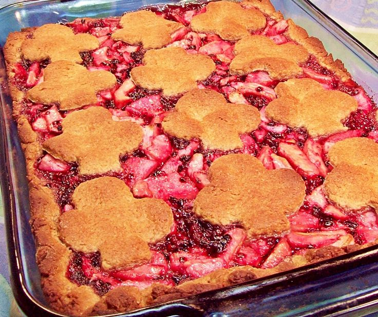 Blackberry Apple Cobbler in a Cinnamon Biscuit Crust