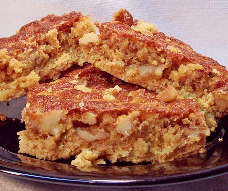 Cinnamon Walnut Cake Mix Bars