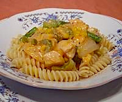 Farm-Style Chicken and Pasta