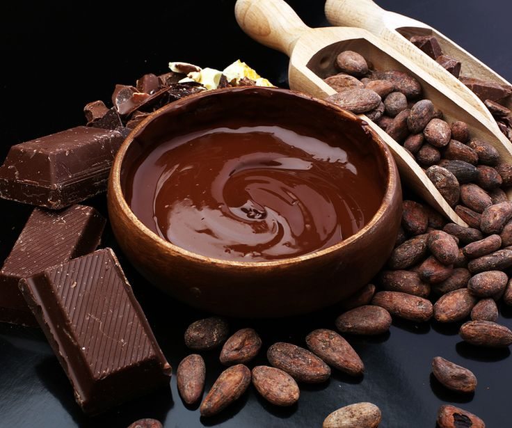 Chocolate is rich in antioxidants which are important for maintaining good health.