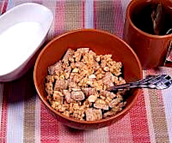 Granola and Shredded Wheat