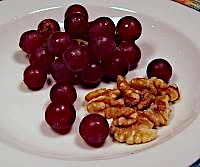 Grapes and Walnuts