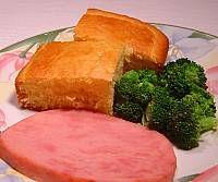 Ham and Corn Bread