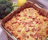 Ham and Egg Macaroni Oven Dish