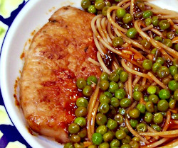 Image of Honey Ginger Pork and Pasta
