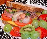Hot Ham Sandwich