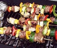 Marinated Steak Kabobs