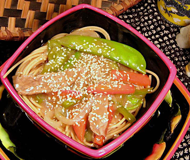 Asian Beef in Sesame Gravy