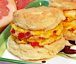 Bacon and Egg Biscuit Sandwiches