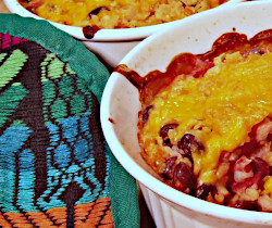 Baked Black Beans and Rice