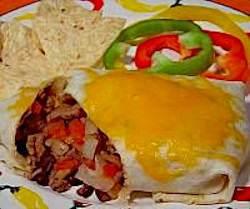 Image of Beef and Bean Burrito