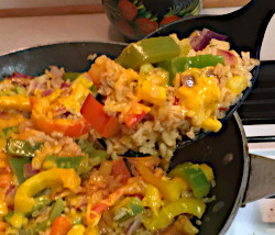 Image of Cheddar Rice Skillet