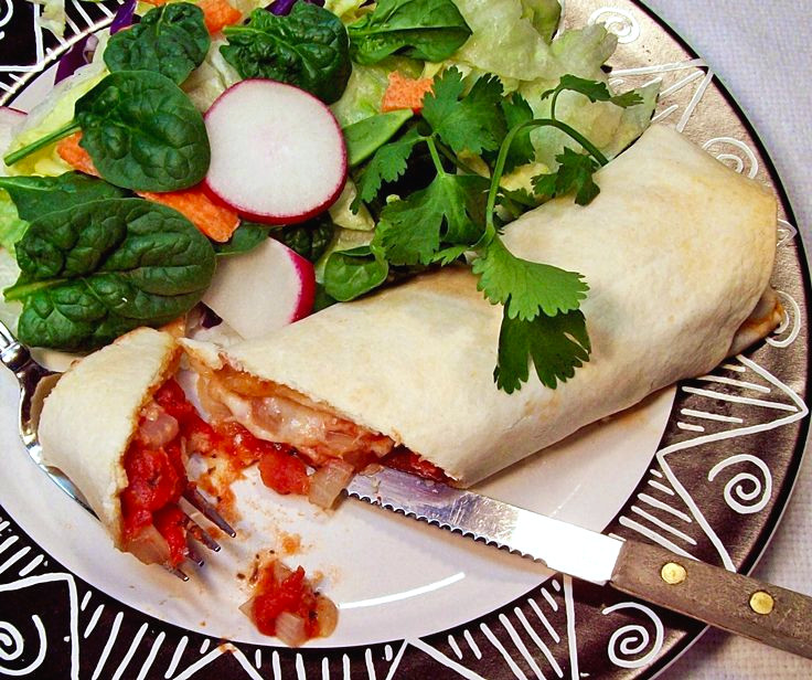 Cheese Pizza Burrito
