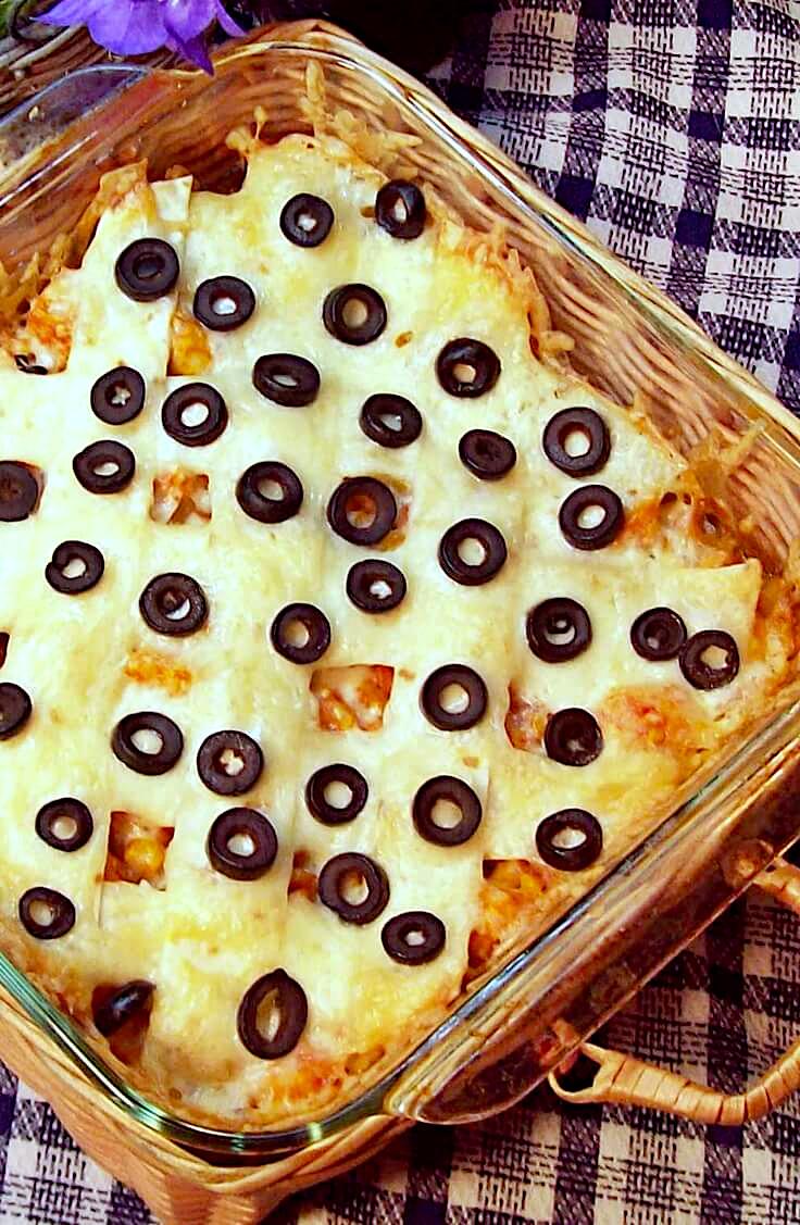 Chicken and Corn Tortilla Casserole