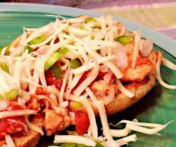 Chicken and Tomato Italian Sandwich