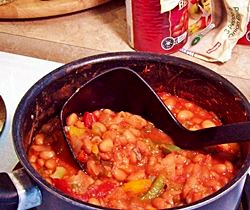 Fast and Furious Meatless Chili