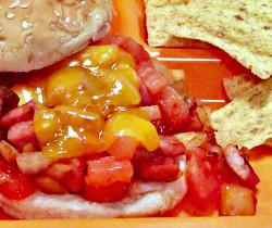 Fiesta Ham and Cheese Sandwich