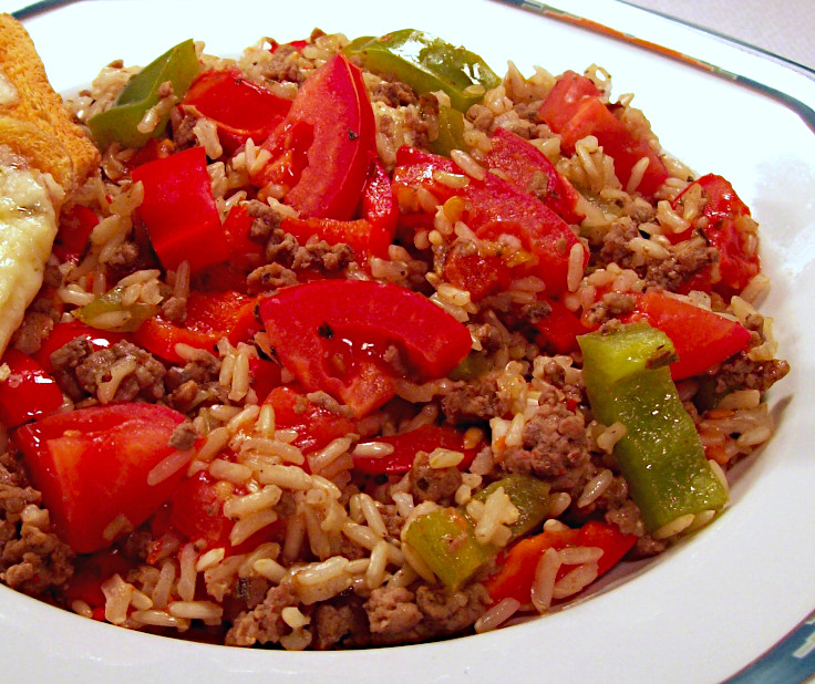 Fresh Tomato Spanish Rice