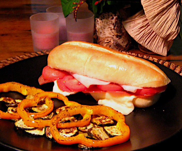 Image of Hoagie Pizza and Sautéed Zucchini