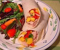 Image of Mango Relish Tuna Wrap