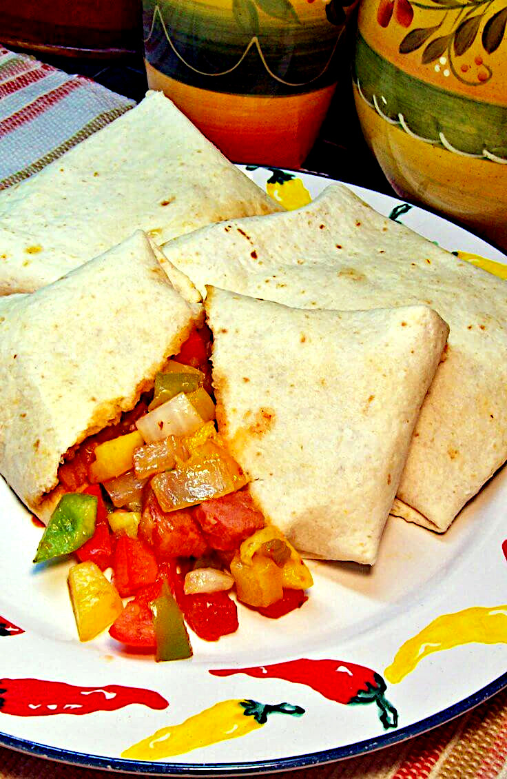 Mexican Ham and Cheese Sandwiches