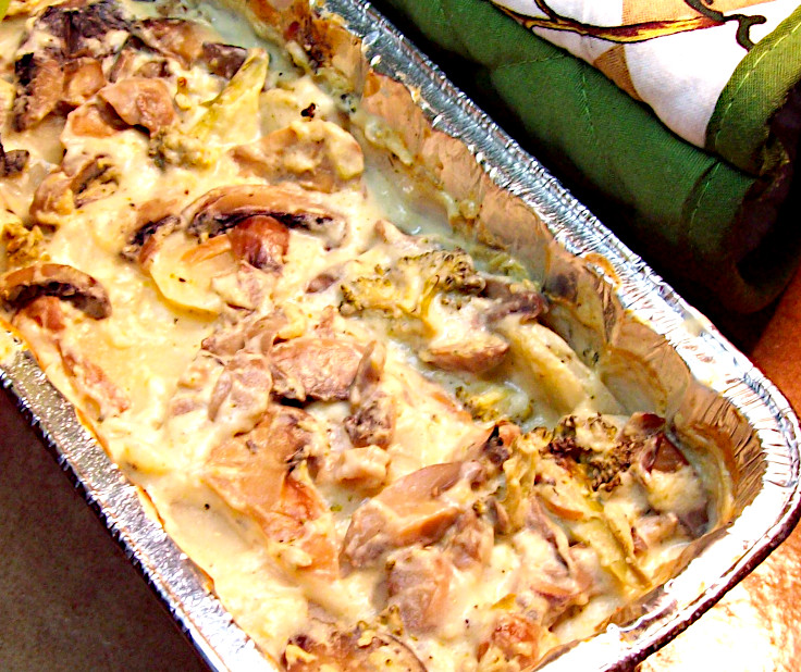 Mushroom and Potato Casserole