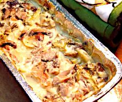 Mushroom and Potato Casserole