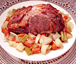 Oven Bag Pot Roast
