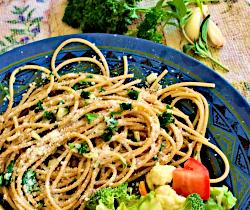 Image of Parmesan Garlic Spaghetti