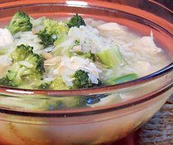 Pilaf Chicken Soup