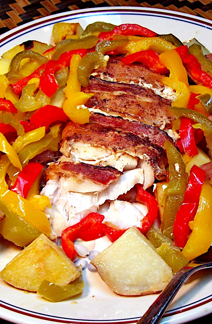 Roasted Bacon-Ranch Fish Fillet