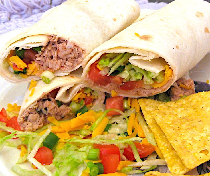 Rollup Tuna Tacos