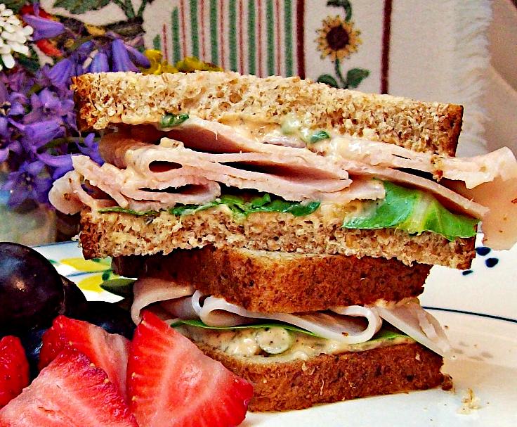 Secret Sauce Turkey Sandwich