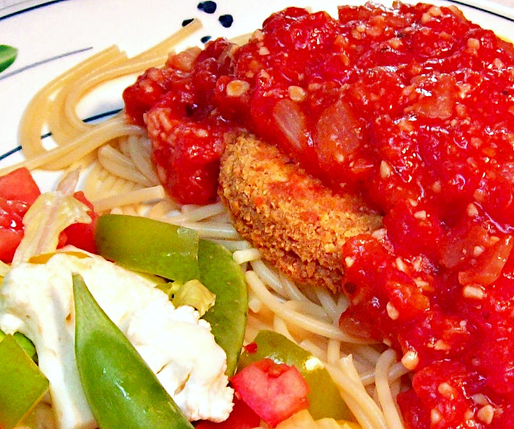 Image of Simple Chicken Parmigiana
