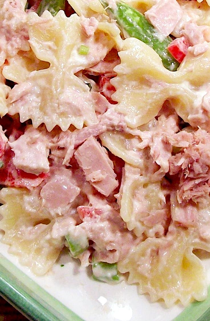 Tarragon Tuna Pasta